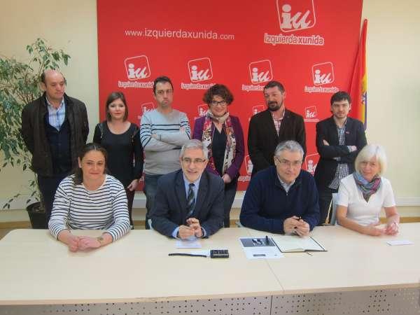 IU presenta una lista en busca del cambio de ciclo político y abierta a la convergencia de la izquierda