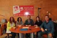 Albiol (IU) se compromete a trabajar para que el Parlamento Europeo inste a la reapertura de RTVV