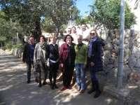 El Consell visita las obras de mejora del centro de acogida Puig des Bous