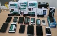 Guardia Civil desarticula en Villarrobledo una organización dedicada a robar en comercios de telefonía móvil
