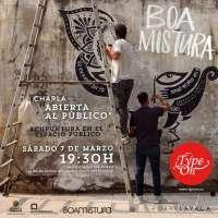El grupo de jóvenes creativos Boa Mistura comparte mañana su trayectoria y su trabajo con el público de Valladolid