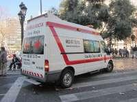 Cruz Roja evacua a una persona durante la 'mascletà' al sufrir un infarto