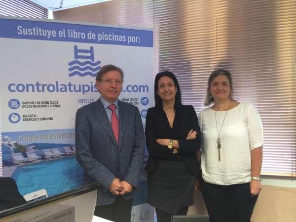 Biolinea presenta en la FEHM una aplicación informática para la gestión de piscinas turísticas