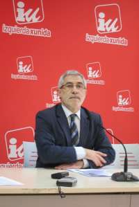 Llamazares estima que la privatización del registro civil supondrá 1,2 millones de pelotazo en Asturias