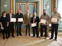 La Subdelegación del Gobierno en Bizkaia homenajea a los voluntarios de la Red Radio Emergencias (REMER)