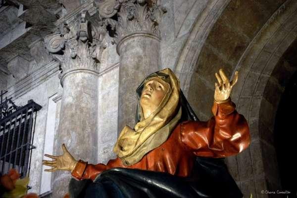 Las calles de Valladolid acogen mañana el Santísimo Rosario del Dolor y la procesión de la Buena Muerte