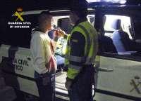 La Guardia Civil detiene en Mula a un conductor por circular en sentido contrario durante 4 kilómetros