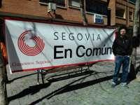 Rubén Rincón Gil encabezará la lista a la Alcaldía de la capital por 'Segovia en común'