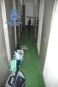 La Policía Nacional detiene a un joven por el robo en más de 20 trasteros