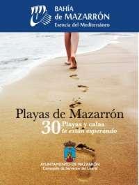 Ayuntamiento Mazarrón crea una guía informativa de las playas del municipio
