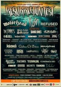 Suicide Silence, Danko Jones y 15 bandas más se incorporan al cartel del Resurrection Fest 2015
