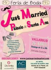 Las últimas tendencias en enlaces se dan cita el domingo 26 en Arroyo (Valladolid) en la Feria 'Just Married Market'