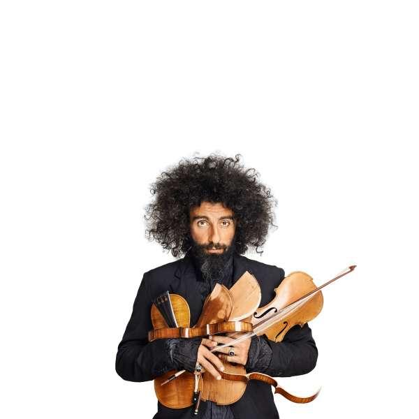 El violista Ara Malikian celebra en el Palacio de Festivales sus quince años de trayectoria