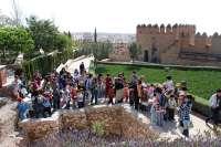 La Alcazaba recibe 42.286 visitantes durante el primer trimestre, con una Semana Santa
