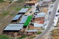 El afectado por la vaquería ilegal de Fuente Palmera pide a los partidos que la retiren y se limpie la zona