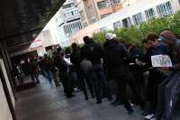 El paro cayó en 600 personas en el primer trimestre y sitúa la tasa de desempleados en el 20,38%