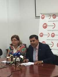 UGT y Ciudadanos en Extremadura coinciden en la importancia del empleo público y en la concertación social