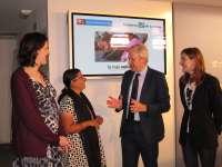 Del Río destaca el trabajo de Fundación Vicente Ferrer para