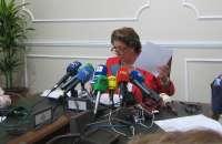 Barberá dice que las facturas están fiscalizadas y verá si publicarlas vulnera la protección de datos