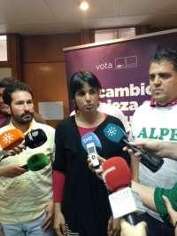 Rodríguez (Podemos) ve insuficiente la marcha de Griñán porque