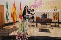 La presidenta de la Diputación participa en la XIII Lectura continuada del Quijote