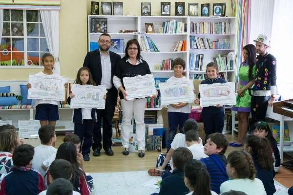 Alumnos del CEIP Punta Brava (Tenerife) ganan el concurso 'Cómo veo mi Biblioteca 2015'