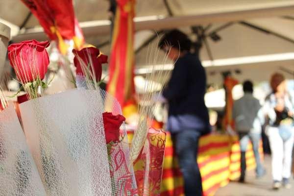 Palma celebra el Día del Libro con la presencia de numerosos puestos al aire libre en calles y plazas de la ciudad