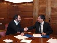 Diputación y SEA ofrecerán un servicio de información europea para mejorar la competitividad de las pymes alavesas