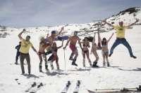 Sierra Nevada celebra el sábado la III Bajada en Bañador, evento central de la primavera