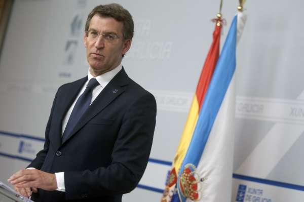 Feijóo defiende la situación de la economía gallega y sugiere que Sánchez debería