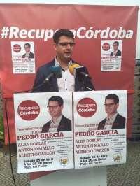 Maíllo y Garzón respaldarán a Pedro García en la presentación de la candidatura de IU este sábado