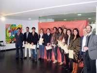 Ocho alumnos de Derecho de la UN reciben sus diplomas como asesores jurídicos en la Casa de la Juventud de Pamplona