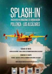Un total de 11 hidroaviones amerizan este sábado en la playa de Los Alcázares