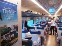 Vendidas casi todas las localidades para los Trenes Turísticos de Extremadura