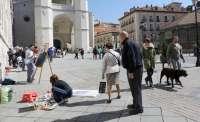 La Casa Consistorial de Valladolid protagonizará el concurso de 'Pintura rápida de San Pedro Regalado'