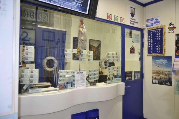 Una clienta habitual de una administración de Ponferrada (León), agraciada con 12.000 euros en la Lotería Nacional