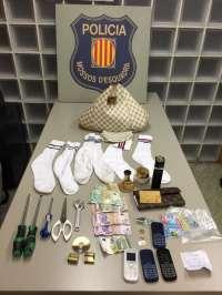 Dos detenidas por robar en cinco domicilios de Girona