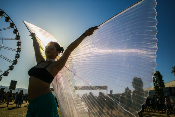 Festival de música Coachella, California (EE UU)