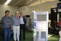 Crean en El Viso una máquina capaz de generar agua en ambientes