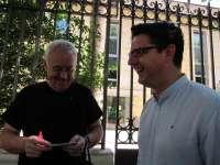García (IU) afirma que el PP ha devuelto a Sadeco