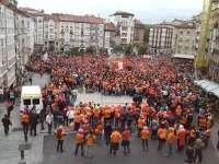 Anuncian la presencia en Vitoria de los tres miembros de Segi condenados por la Audiencia Nacional, todavía en libertad