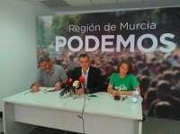 Podemos Murcia presenta sus propuestas medioambientales junto a López Uralde