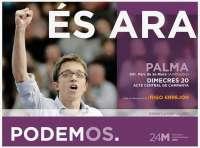 Iñigo Errejón protagoniza este miércoles el acto central de campaña de Podemos Baleares