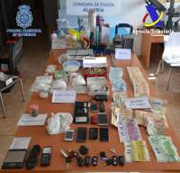 Ingresan en prisión cuatro personas acusadas de integrar una red dedicada al narcotráfico de cocaína