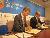 El Ayuntamiento de Burgos se asocia con Iberaval para abrir una línea de financiación de 6 millones a pymes y autónomos
