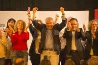 Alfonso Guerra visita este jueves Lorca en lo que será el acto central de campaña del PSOE