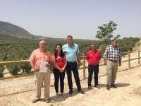 El sellado del vertedero de Las Canteras de Jimena permite la recuperación de 24.000 metros cuadrados