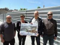 CHA propone para el solar de La Merced de Huesca un mercado de abastos