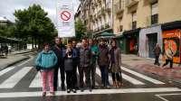 I-E propone la peatonalización del Paseo Sarasate cortando el tráfico con señales de prohibido circular