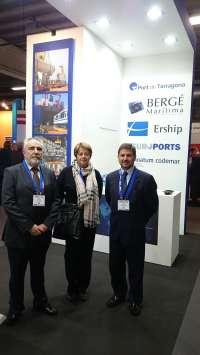 El Puerto de Tarragona se promociona en Europa como especialista en grandes cargas